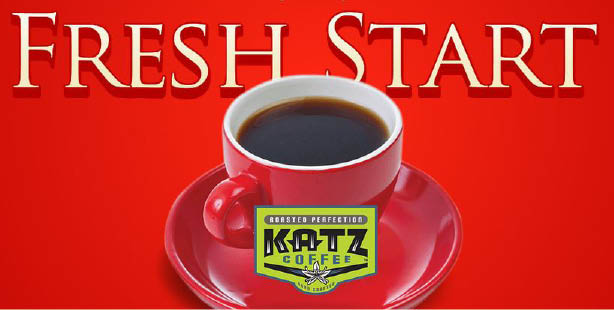Fresh coffee roasted to perfection by Katz Coffee
