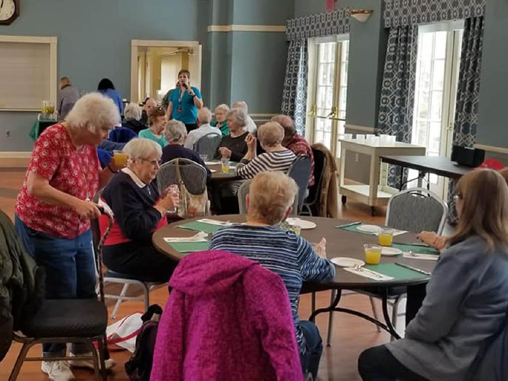 Kemper House community lunch