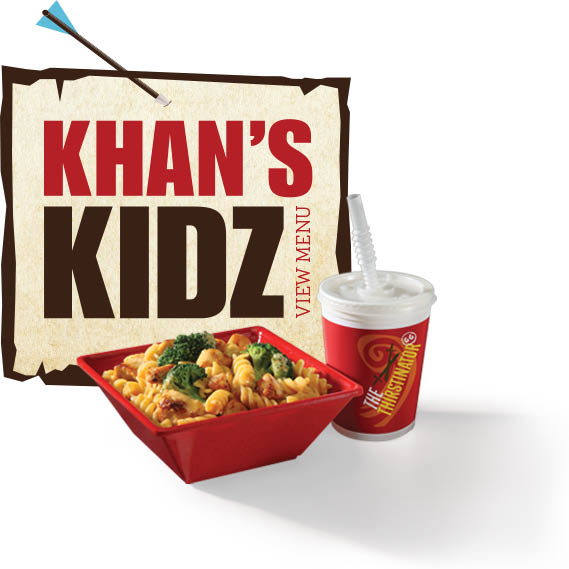 Genghis Grill Khan's Kids Meals
