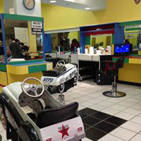 kidz cuts, salon, hair cuts, chairs, kid friendly