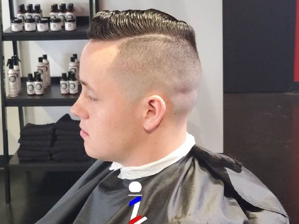 King Culture Barber Studio hair style