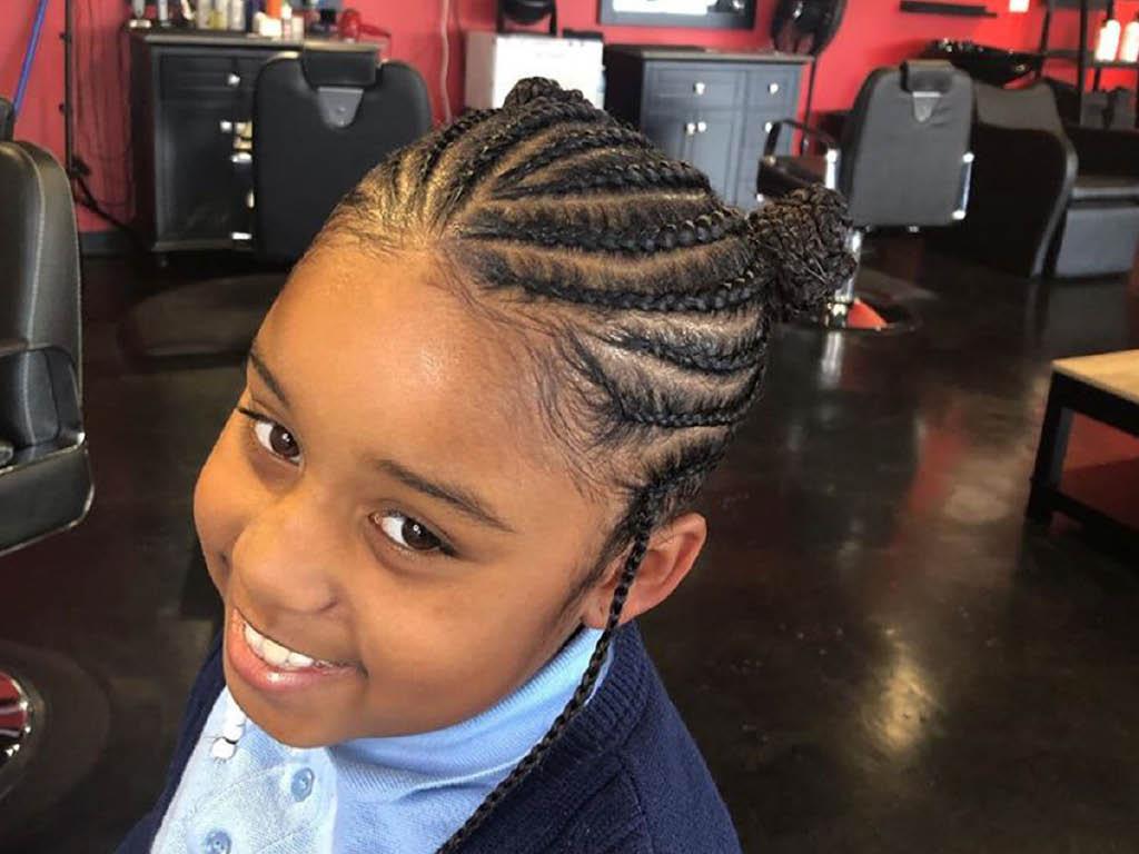 King Culture Barber Studio kids cut