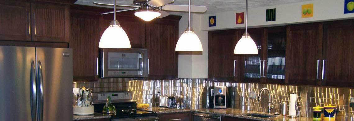 Kitchen Inspiration featuring stainless steel appliances.