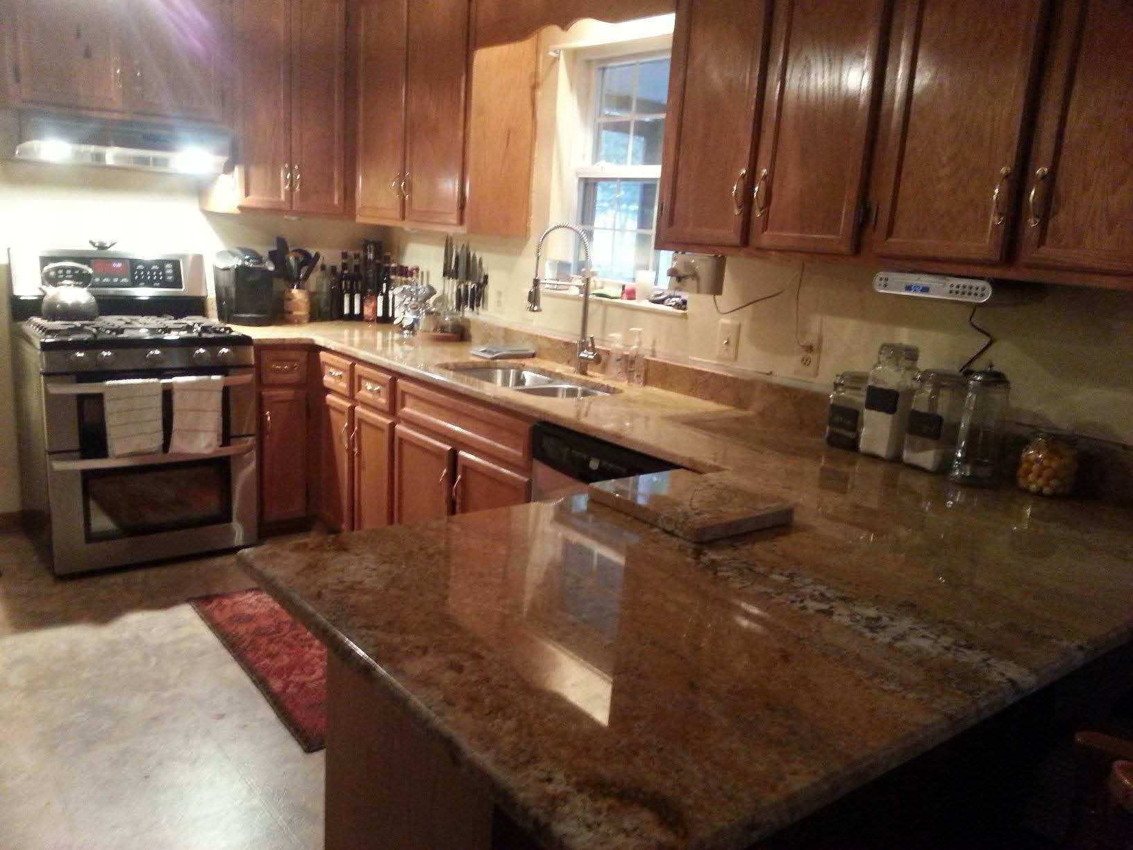 Kitchen Remodel, Countertops, Granite; Fredricksburg, Va