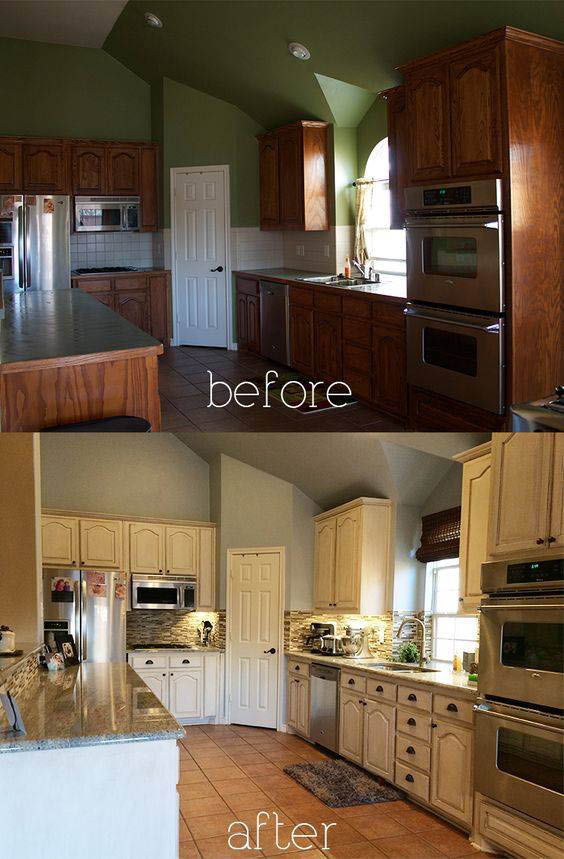 Kitchen Fronts of Georgia remodeled kitchen cabinets