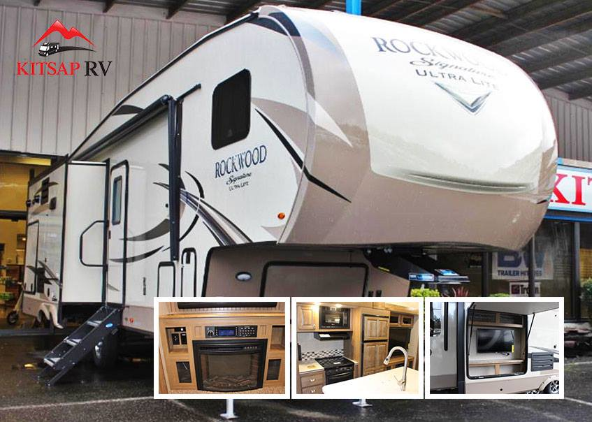 All types of recreational vehicles like the Rockwood Signature Ultra Lite