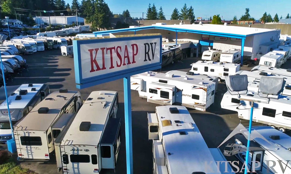 Kitsap RV is stocked with RVs, campers and motor homes