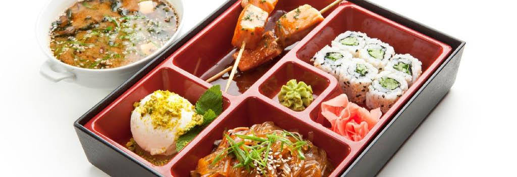 kiyomi sushi restaurant bento box