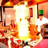 Hibachi Grill and experienced Japanese chef at Kobe Steakhouse