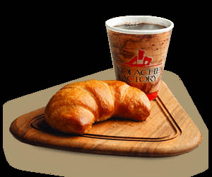 Croissant, breakfast restaurants