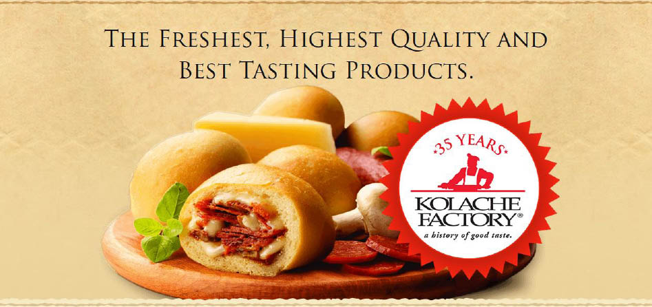 Savory fresh kolaches with protein - the perfect meal