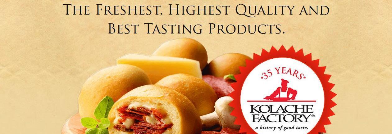 Kolache Factory banner Shawnee & Overland Park, KS