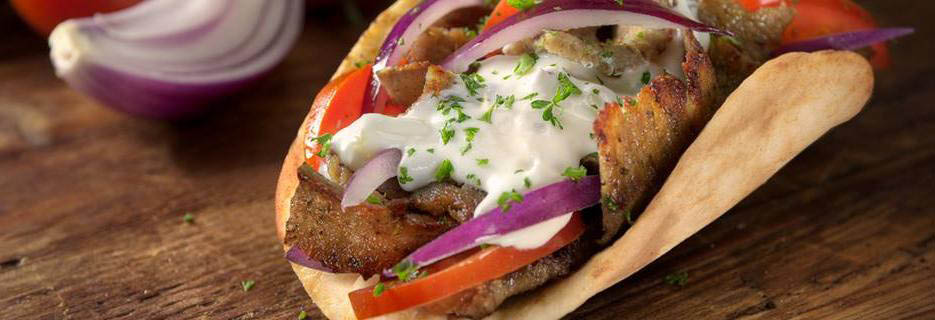 Photo of Gyros by Kronos served at Hometown Gyros in Midlothian.