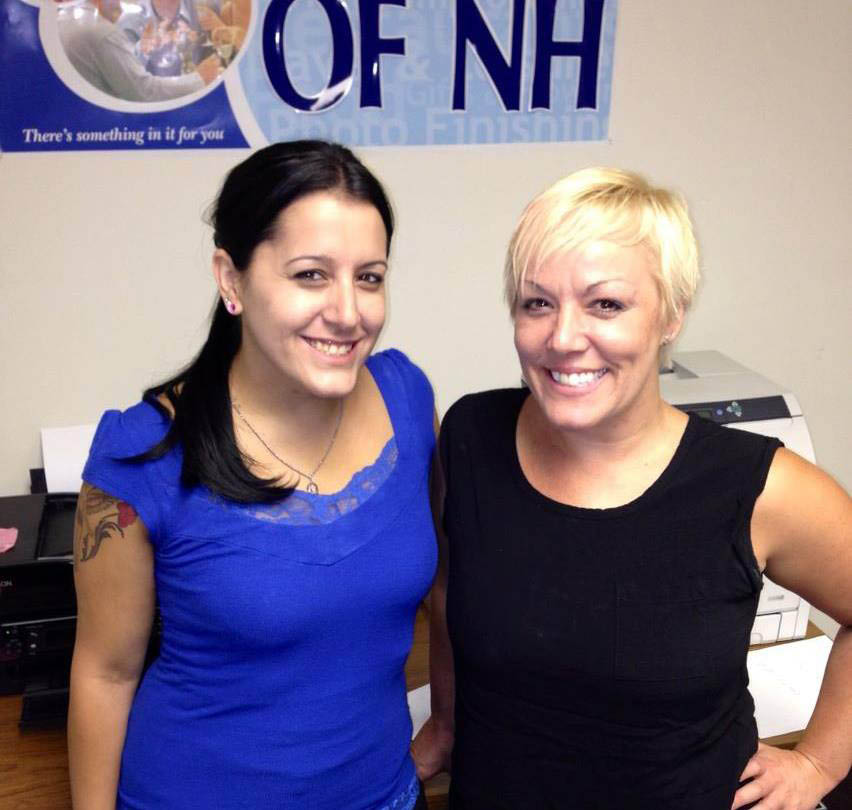 Krystin Parasco Director of Operations & Lisa Richards Sales Manager