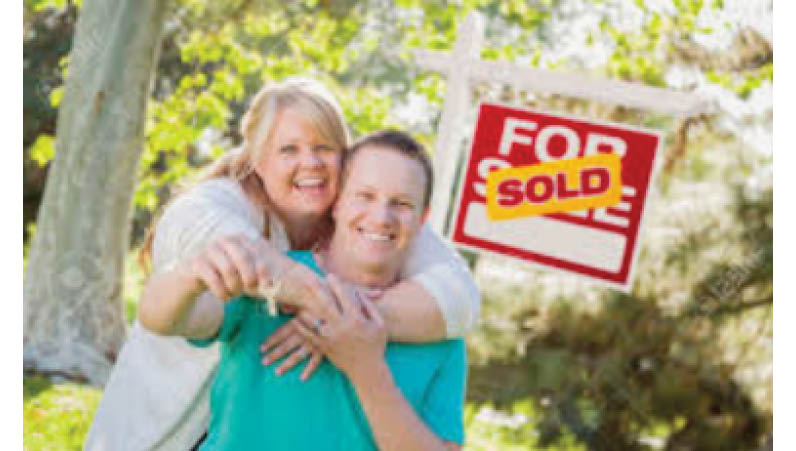 Product display of lawn mowers