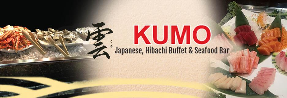 Kumo Ultimate Sushi Bar & Grill Buffet banner