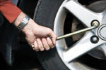 tire rotation and flat tire repair