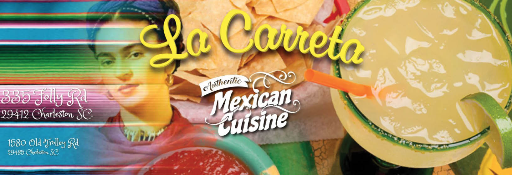 La Carreta in Summerville, SC Banner ad