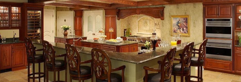 photo of kitchen cabinets from LaFata Cabinets in Shelby Twp & Traverse City, MI