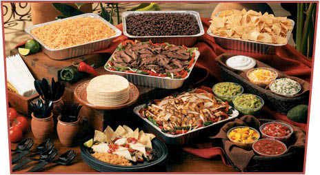 La Hacienda offers catering services for your next family occasion