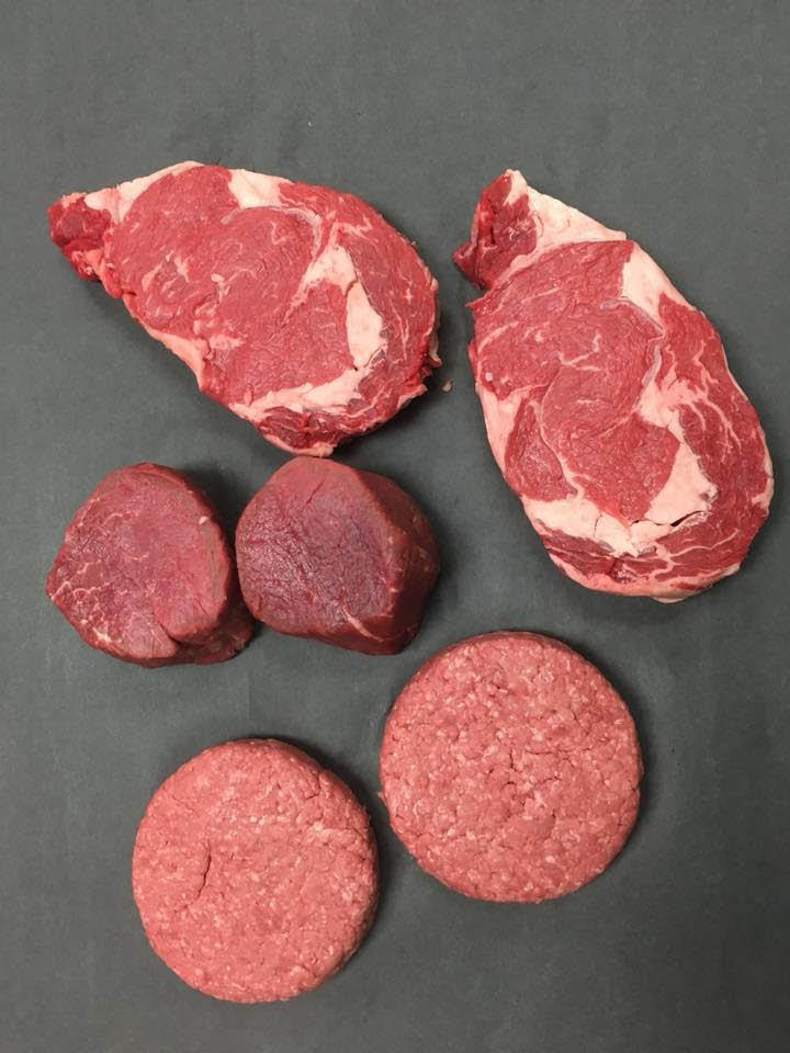 quality beef; hand cut meats; steak; filet