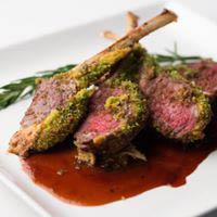 lamb chops; veal
