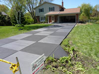 Milwaukee Concrete Driveway contractors and installers