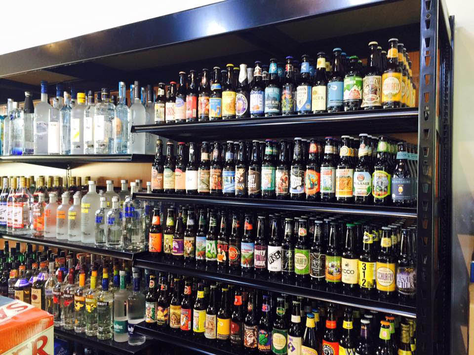 Lakefront Fine Wine and Spirits in frederick md great selection of craft beer.
