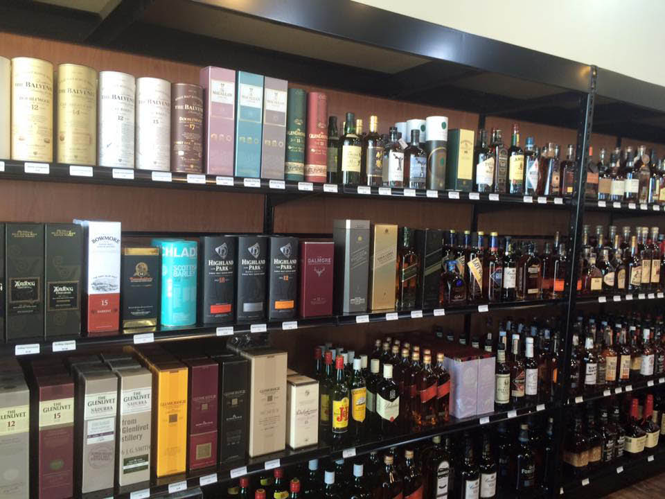 Lakefront Fine Wine and Spirits in frederick maryland has a variety of spirits.