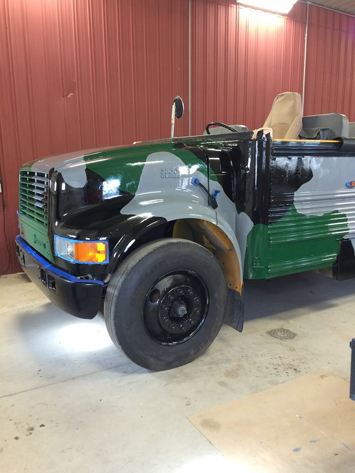 Custom safari truck for adventuring in Halifax
