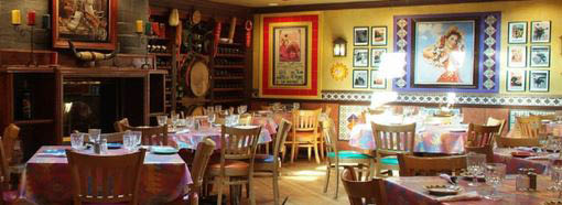 Lalo's Mexican Restaurant dining area in Glenview IL