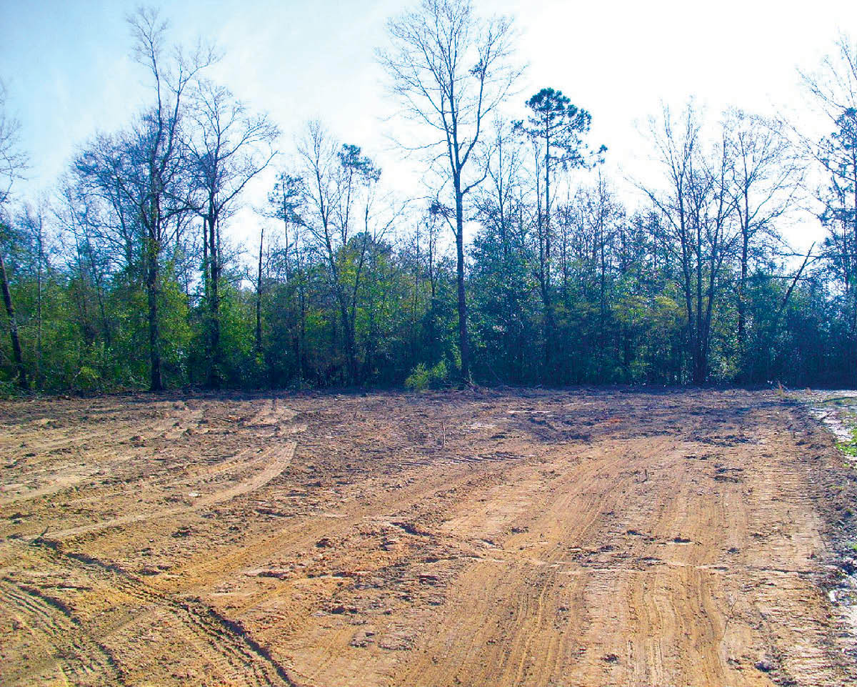 Land clearing and excavating services