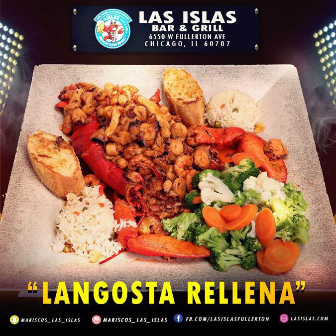Langostino Rellena at Las ISlas