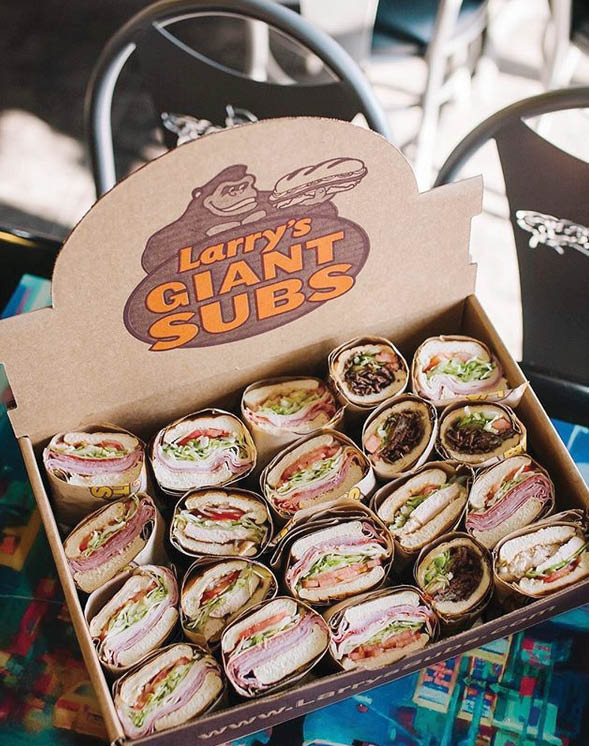 : Variety of fresh subs make the best office party catered meal