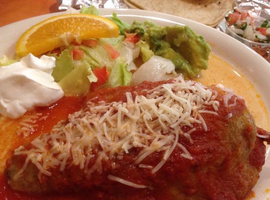 Enchiladas and other Mexican food in Canyon Country CA