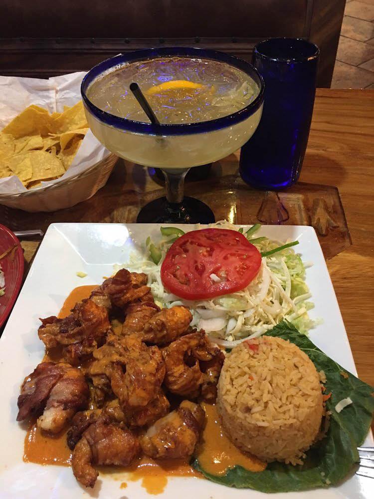 las-trojas-shrimp-dish-margarita