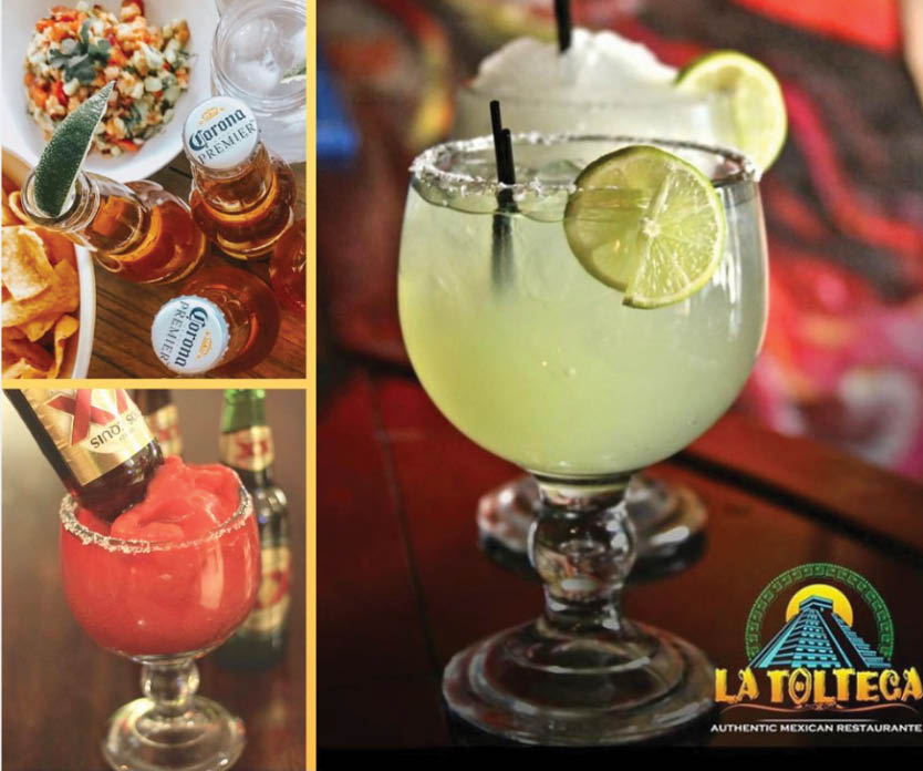 La Tolteca Authentic Mexican Restaurant Owings Mills Maryland margaritas