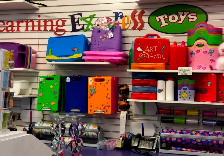 Learning Express Toys local personalization