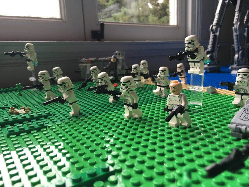 Battling with LEGOs and everyone wins