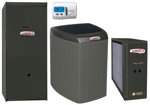 Lennox Elite series furnace and a/c.