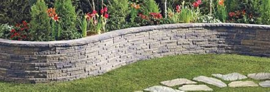 landscape, wall, fencing, pavers