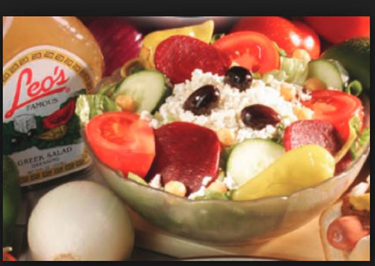 Photo of Greek Salad at Leo's Coney Island