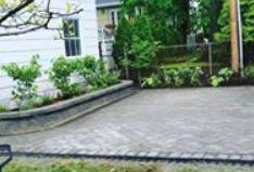 patio, pavers, landscape, backyard