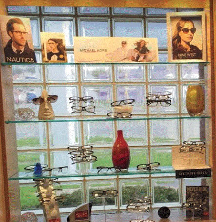 Different style glasses available at Lesnick Optical in Southgate