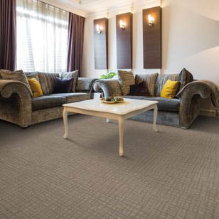 Beautiful living with Lexmark residential carpeting.