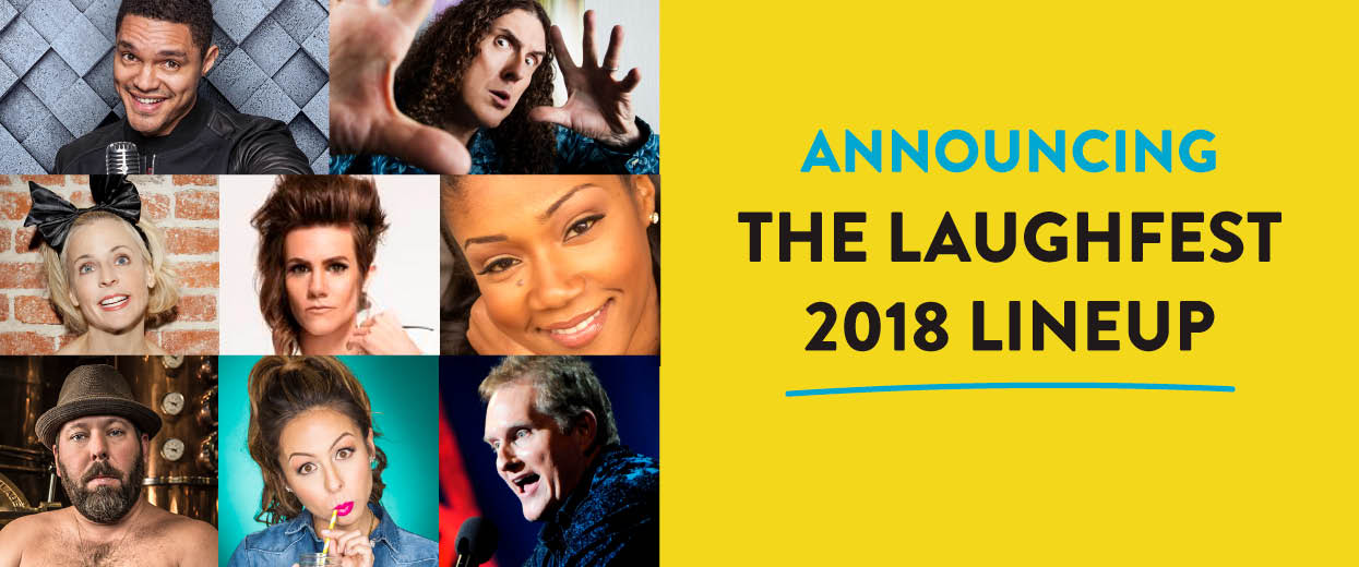Laughfest 2018 Lineup
