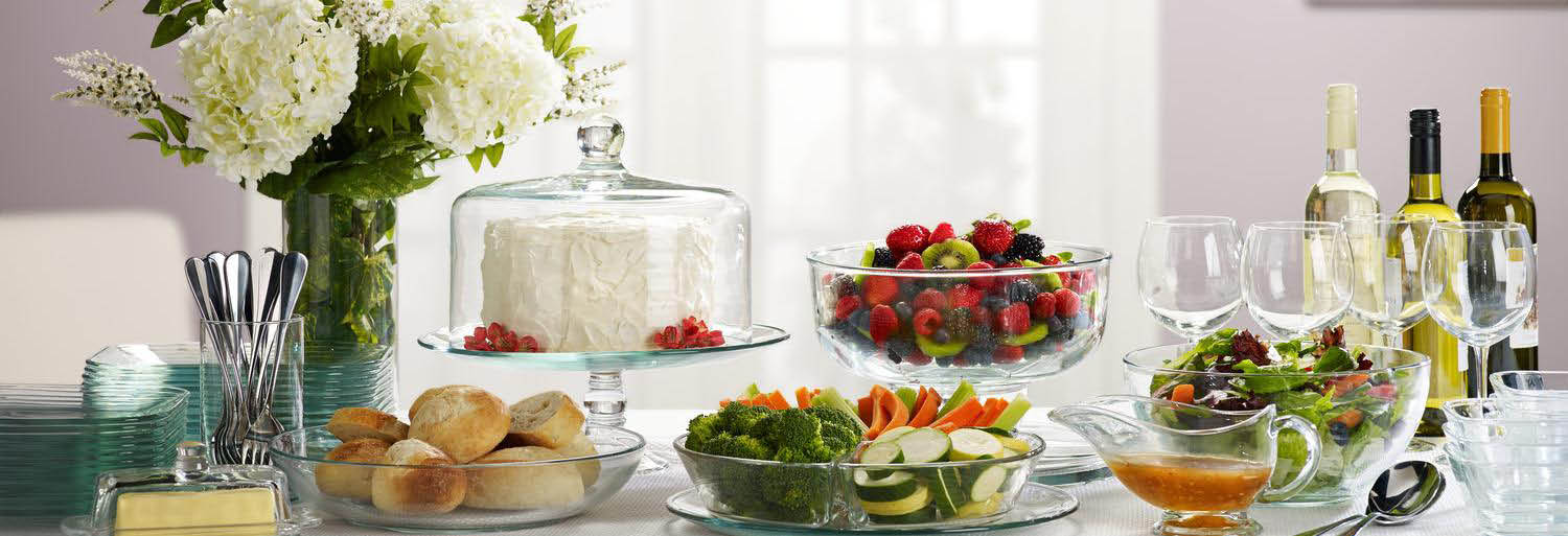 libbey glassware party dishes - Libbey Glassware