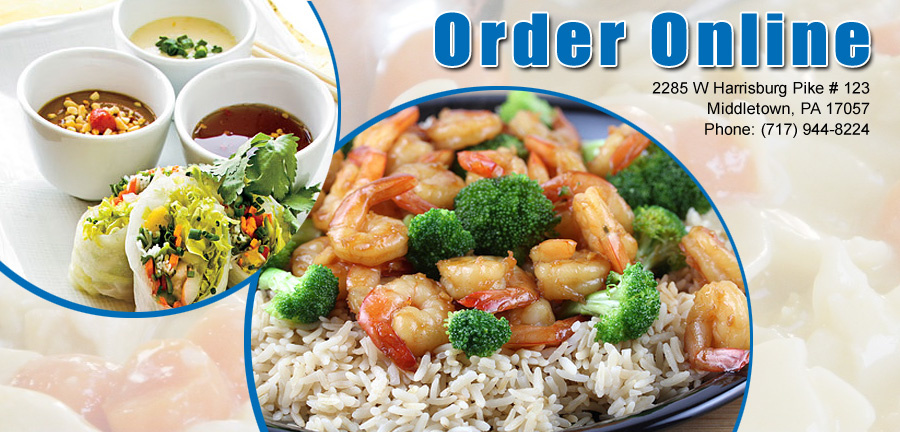 order online for Chinese food delivery near Harrisburg