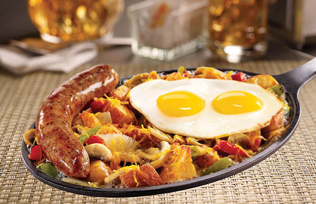 Start your day with Breakfast at Denny's