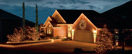 Beautifully lighted home